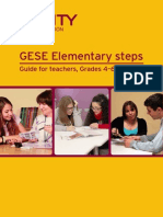 GESE Elementary Steps - Guide for Teachers