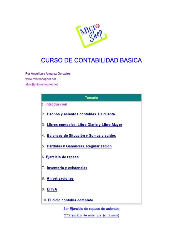 Curso de contabilidad for Curso de cocina basica pdf