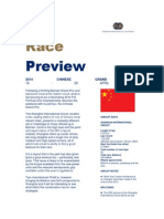 Chinese Formula One Grand Prix Preview