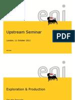 Upstream Seminar