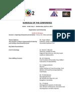Global Milling Conference Agenda