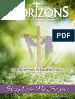 Horizons Newsletter Spring 2014