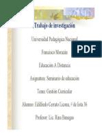 Presentacion Seminario de Educacion UPNFM,Honduras
