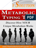The Diet Solution Metabolic Typing Test