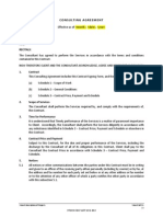 howell consulting agreement