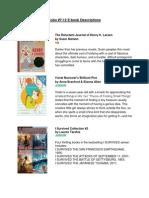 Kobo 7-12 eBook Descriptions