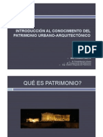 Introduccion Al Patrimonio