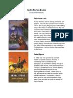 eBooks Descr - Andre Norton
