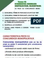 Tema 10 Comportamentul Firmei