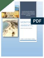 Monitoreo Bahia de Santa Marta. (2014)