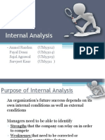 Internal Analysis_SM Presentation