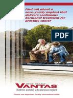 VANTAS Patient Brochure