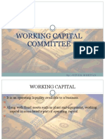 Working Capital committee