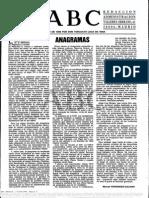 Articulo Anagramas