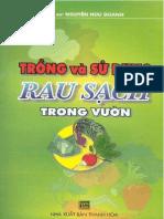 Trồng và sử dụng rau sạch trong vườn - Nguyễn Hữu Doanh