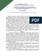 HOTĂRÎREA  nr. 2 (2006)Cu privire la aplicarea unor dispoziţii ale Codului civil şi ale altor