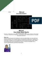 Manual Reiki Grd I II III