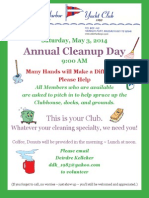 AHYC Annual Cleanup Day