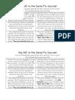 Say No to the Swine Flu Vaccine (2) PDF
