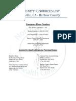 nghc adairsville resource list