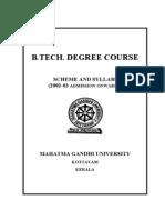 Syllabus MGU BTech 26-03-3ff