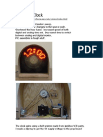 คู่มือโครงงาน PropellorClock V2 - ข้อมูลจริง Propellor Clock