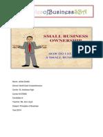 pob sba role of entrepreneur