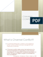 Channel Conflict in distribution management