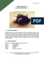 Prihatman K 2000, 'Manggis (Garcinia Mangostana L.)'
