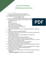 Cuestionario PAE PROMESA Paraguay