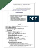 Leccion 1 El Procedimiento Administrativo