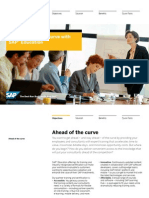 Get Ahead of the Curve With Sap Education