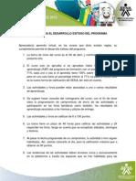 1 1 1Reglas Para El Desarrollo Exitoso Del Programa1