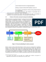 Features of the safety assessment and general methodology