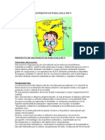 PROYECTO DE MATEMATICAS PARA SALA DE 5.doc