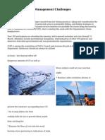 Fisheries Debates Management Challenges