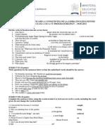 Subiect Scris Bilingv 2013