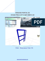 Tutorial Sap200staad Pro