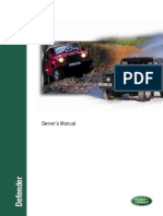 Defender Owners Manual