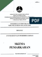 SPM Trial 2009 Bio Ans Kelantan