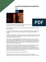 Resumen Taller Intensivo Nutrición Consciente Dr Gabriel Cousens