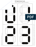 Mrprintables Digital Number Puzzle Question Templates