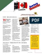 Soi Dog Canada April 2014 Newsletter