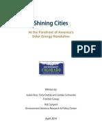 Shining Cities Report
