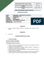 SE-SAF-ATI-040-2012- P1 - ÁREA SERVICIOS LOGÍSTICOS - ALMACENES (ADMINISTRARA BIENES INVENTARIO