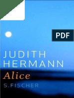 Judith Hermann Alice 2009