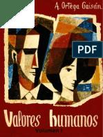 Valores Humanos I