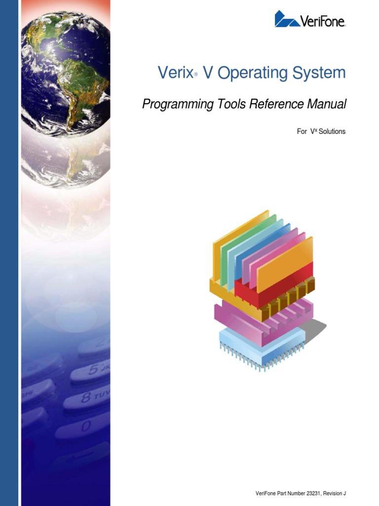 23231 Verix v Operating System Programming Tools Reference Manual | C  (Programming Language) | Computer Data