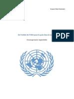 ECJS - De l'utilité de l'ONU pour la paix dans le monde
