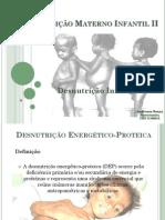 Aula Materno Infantil - Desnutrição Infantil